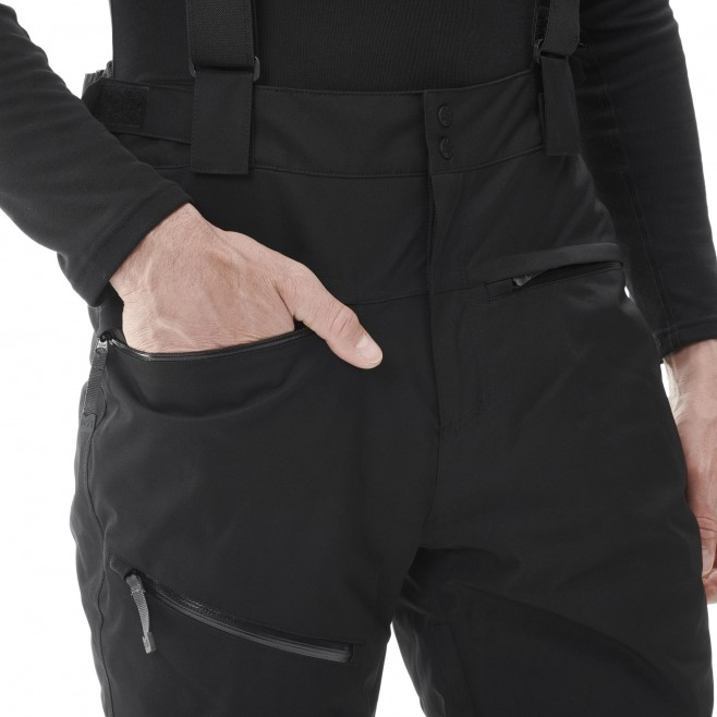 Men's waterproof pant - black ATNA PEAK PANT M Millet 5