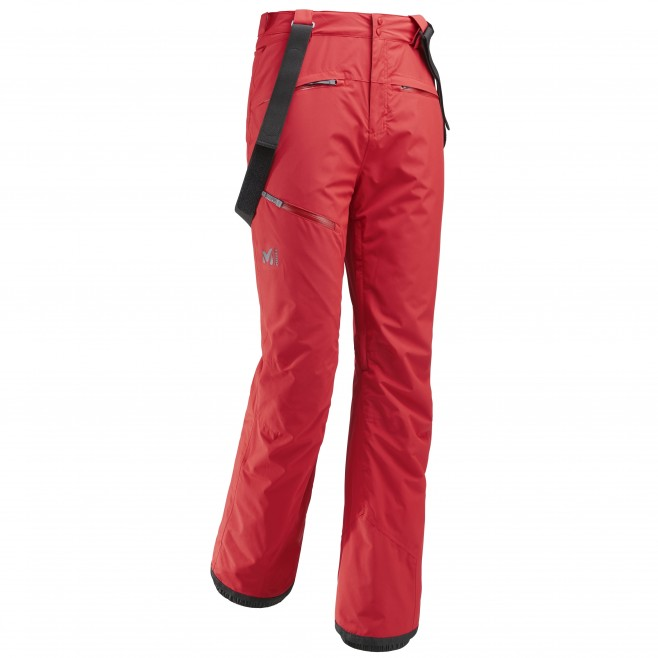Men's waterproof pant - ski - red ATNA PEAK PANT Millet