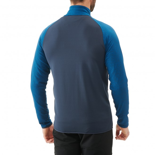 Men's lightweight fleece jacket - ski - blue SENECA TECNO JKT Millet 3