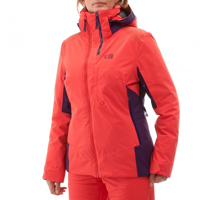 Women's jacket - ski - pink LD 7/24 STRETCH JKT Millet 2