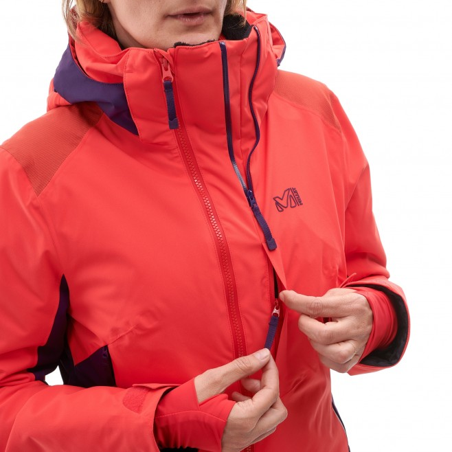 Women's jacket - ski - pink LD 7/24 STRETCH JKT Millet 4
