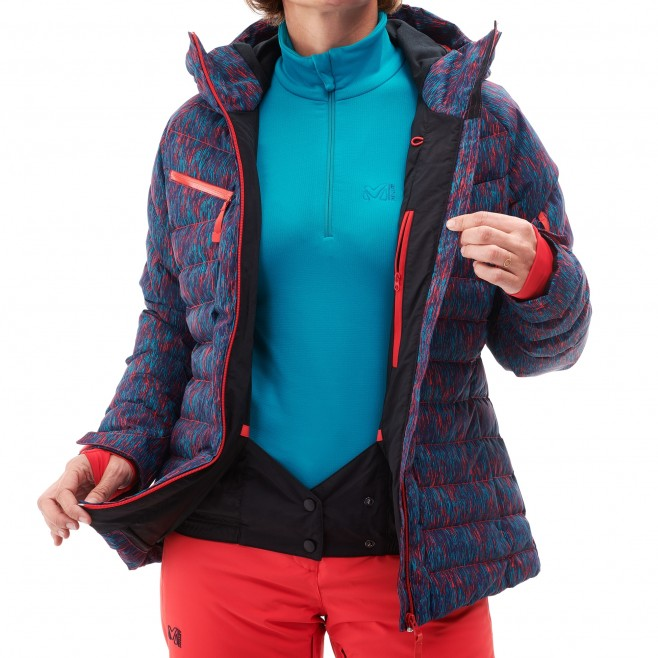 Women's waterproof jacket - blue ROBSON PEAK JKT W Millet 4