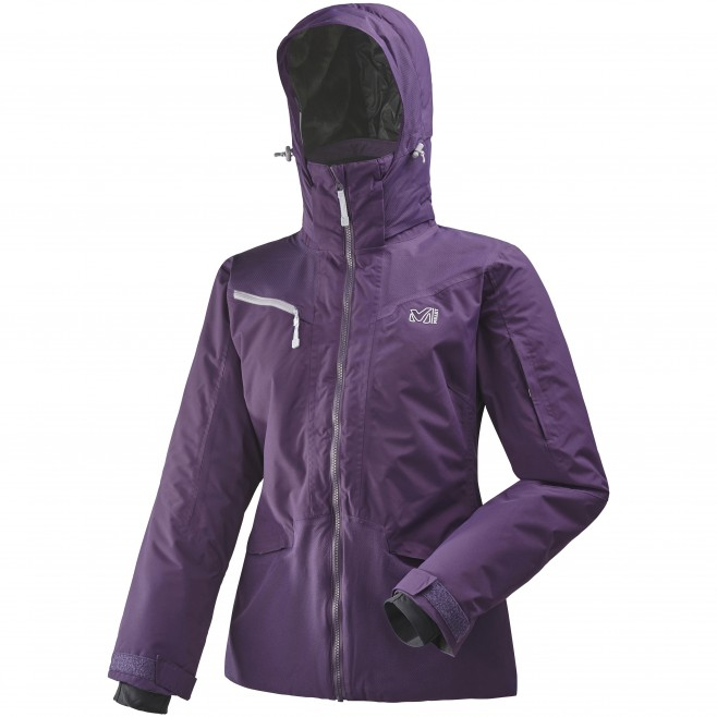 Women's jacket - ski - purple LD THUDAKA JKT Millet
