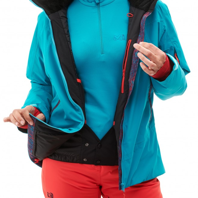 Women's jacket - ski - purple LD ATNA PEAK JKT Millet 4