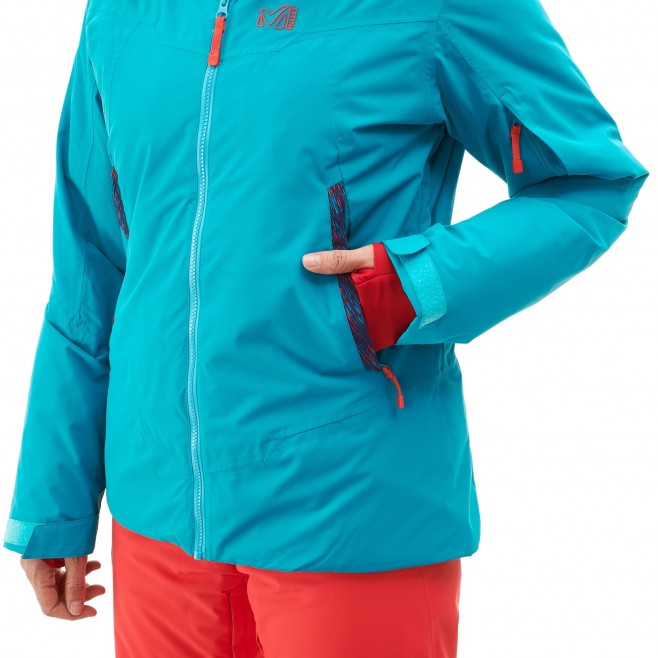 Women's jacket - ski - purple LD ATNA PEAK JKT Millet 5