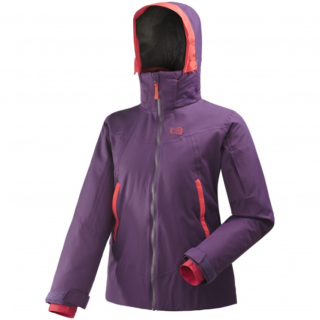 Women's jacket - ski - purple LD ATNA PEAK JKT Millet