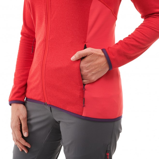 Women's lightweight fleece jacket - ski - blue LD SENECA TECNO JKT Millet 4