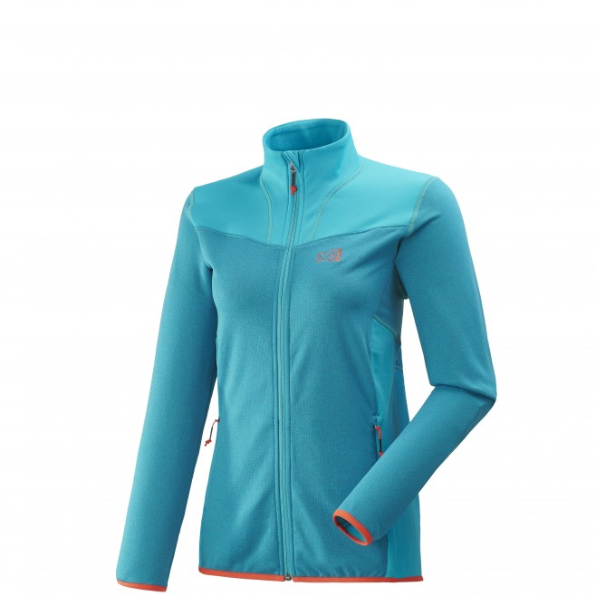 Women's lightweight fleece jacket - ski - blue LD SENECA TECNO JKT Millet