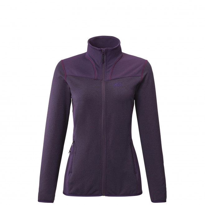 Women's lightweight fleecejacket - purple SENECA TECNO JKT W Millet