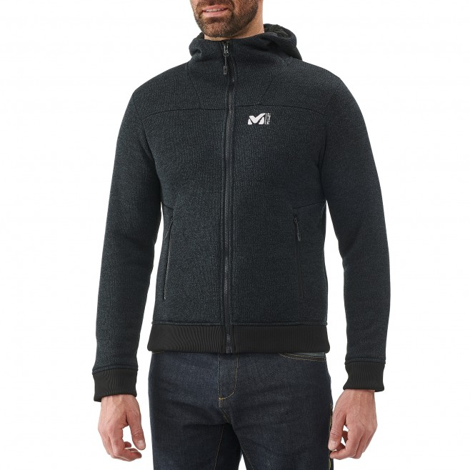 Men's sweatshirt - climbing - black SIKATI SWEAT Millet 2