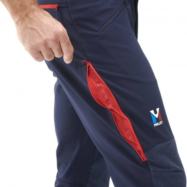 Men's wind resistant pant - navy-blue TRILOGY ADVANCED PRO PANT M Millet 5