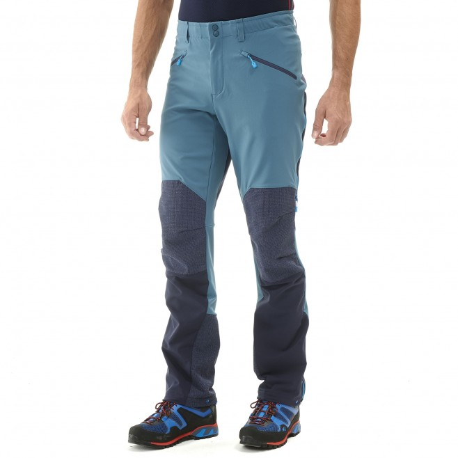 Men's wind resistant pant - mountaineering - blue TRILOGY ADVANCED PRO PANT Millet 4