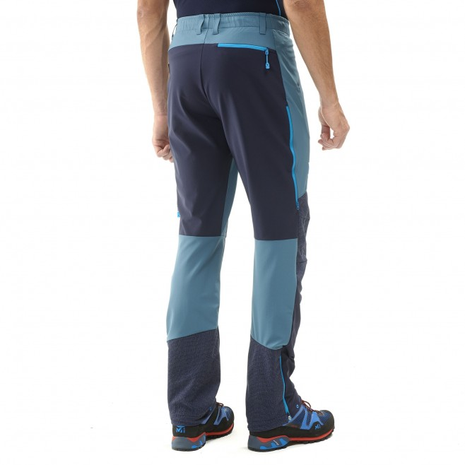 Men's wind resistant pant - mountaineering - blue TRILOGY ADVANCED PRO PANT Millet 5