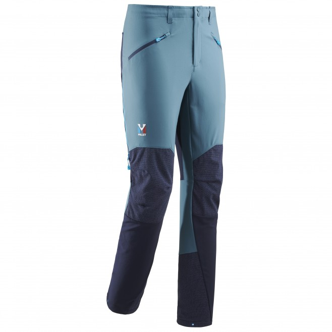 Men's wind resistant pant - mountaineering - blue TRILOGY ADVANCED PRO PANT Millet
