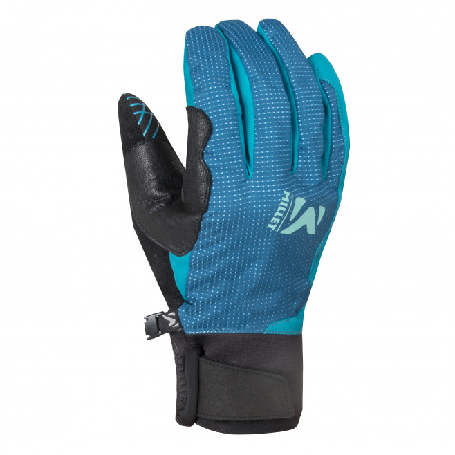Women's softshell gloves - blue LD TOURING GLOVE Millet