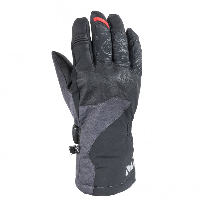 Men's water-resistant gloves - black ATNA PEAK DRYEDGE GLOVE Millet