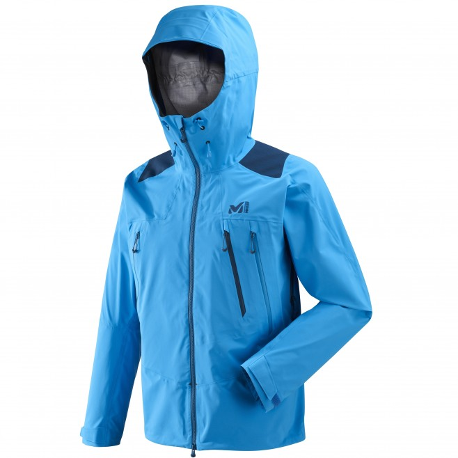 Men's gore-tex jacket - mountaineering - blue K GTX PRO JKT Millet