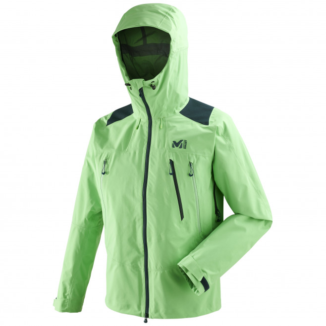 Men's gore-tex jacket - mountaineering - green K GTX PRO JKT Millet