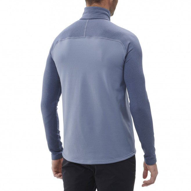 Men's lightweight fleecejacket - blue TECHNOSTRETCH ZIP M Millet 3