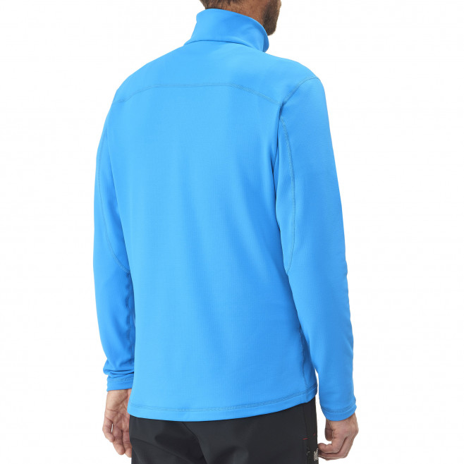 Men's lightweight fleecejacket - blue TECHNOSTRETCH PO Millet 3