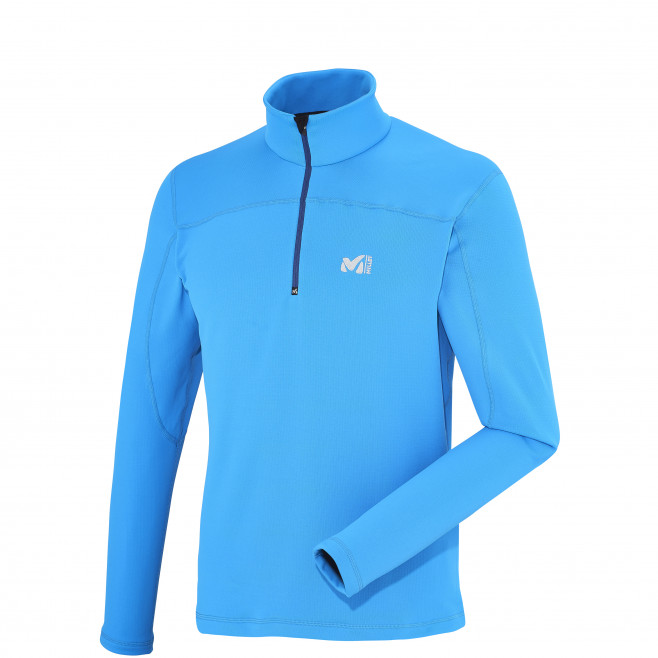 Men's lightweight fleecejacket - blue TECHNOSTRETCH PO Millet