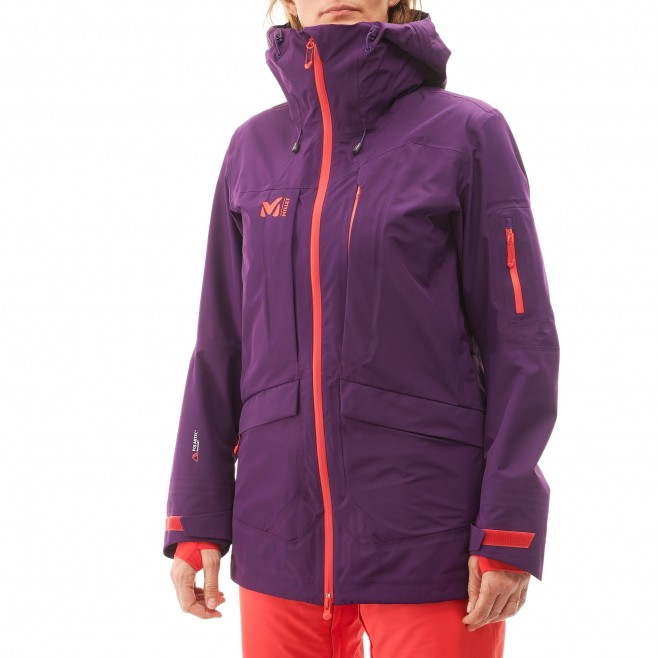 Women's jacket - ski - purple LD ANDROMEDA STRETCH JKT Millet 2