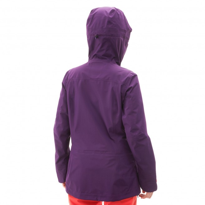 Women's jacket - ski - purple LD ANDROMEDA STRETCH JKT Millet 3
