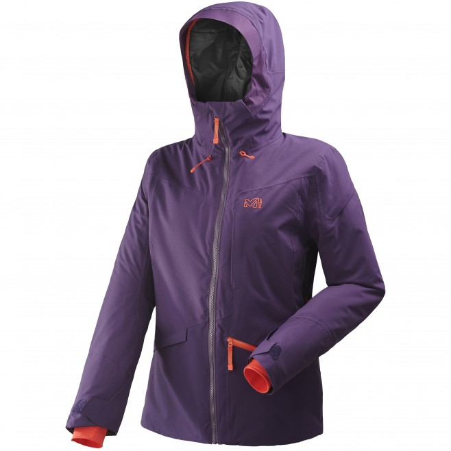 Women's jacket - ski - purple LD ANDROMEDA STRETCH JKT Millet