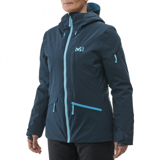 Women's waterproof jacket - navy-blue ANDROMEDA STRETCH JKT W Millet 3