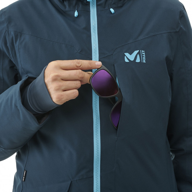 Women's waterproof jacket - navy-blue ANDROMEDA STRETCH JKT W Millet 6