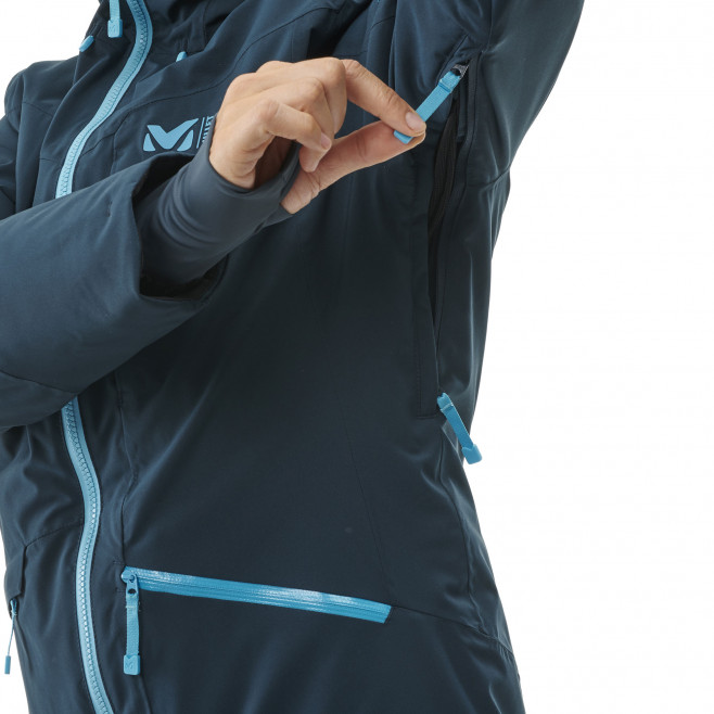 Women's waterproof jacket - navy-blue ANDROMEDA STRETCH JKT W Millet 7
