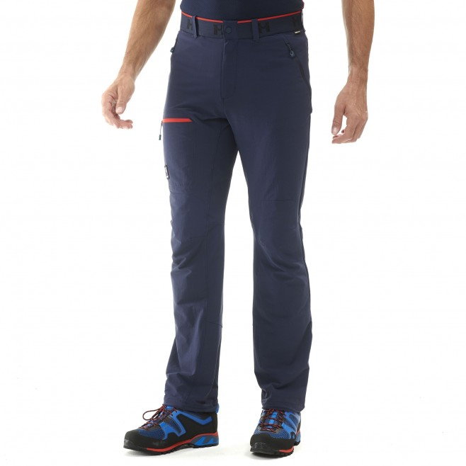 Men's pant - mountaineering - navy-blue TRILOGY ONE CORDURA PANT Millet 4