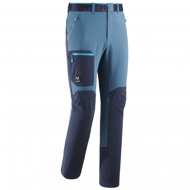Men's wind resistant pant - blue TRILOGY ONE CORDURA PANT M Millet