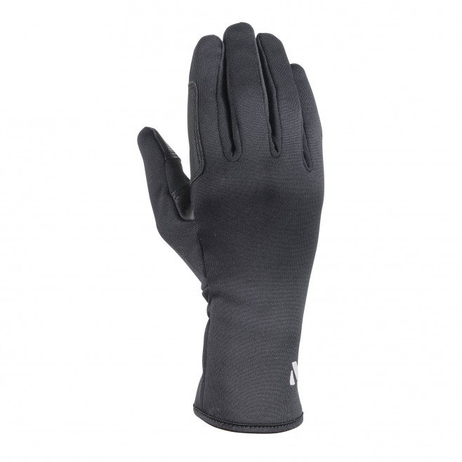 Men's inner gloves - black WARM STRETCH GLOVE Millet