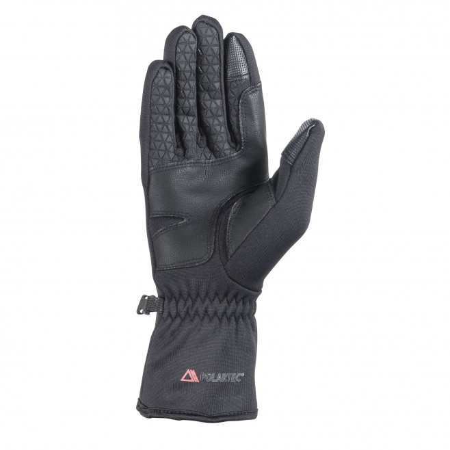 Men's inner gloves - black WARM STRETCH GLOVE Millet 2