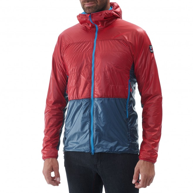 Men's down jacket - alpinism - red TRILOGY EDGE ALPHA HOODIE Millet 2