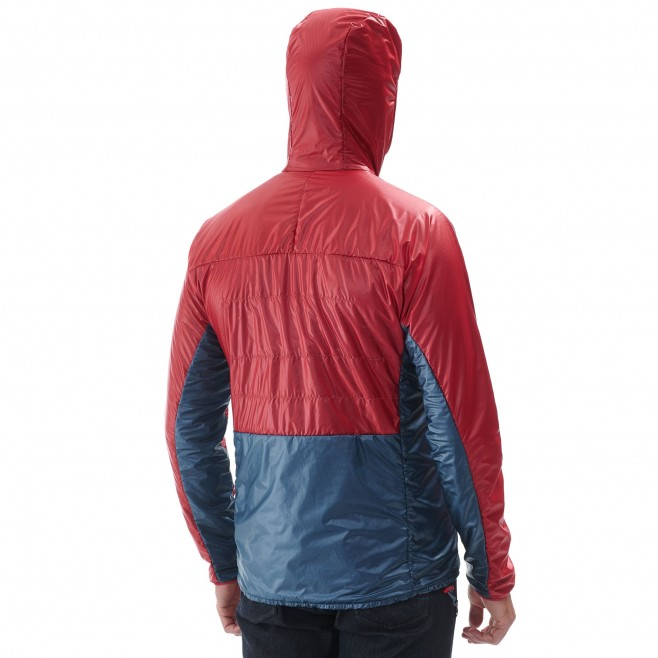 Men's down jacket - alpinism - red TRILOGY EDGE ALPHA HOODIE Millet 3