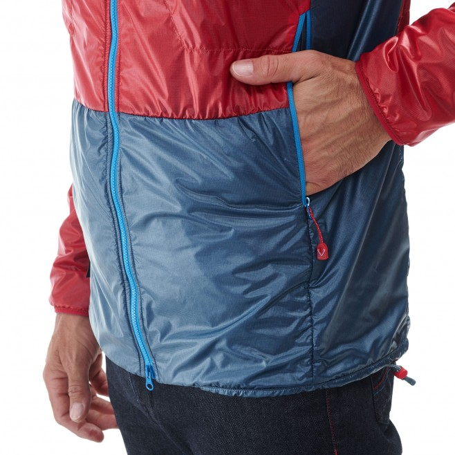 Men's down jacket - alpinism - red TRILOGY EDGE ALPHA HOODIE Millet 5