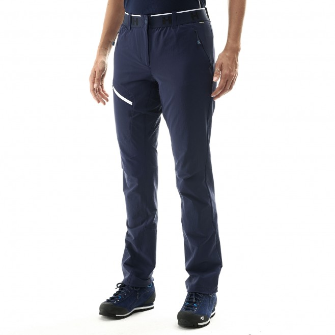 Women's wind resistant pant - mountaineering - navy-blue LD TRILOGY ONE CORDURA PANT Millet 2