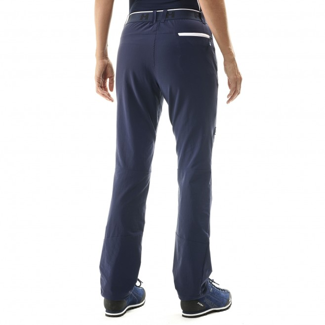 Women's wind resistant pant - mountaineering - navy-blue LD TRILOGY ONE CORDURA PANT Millet 3