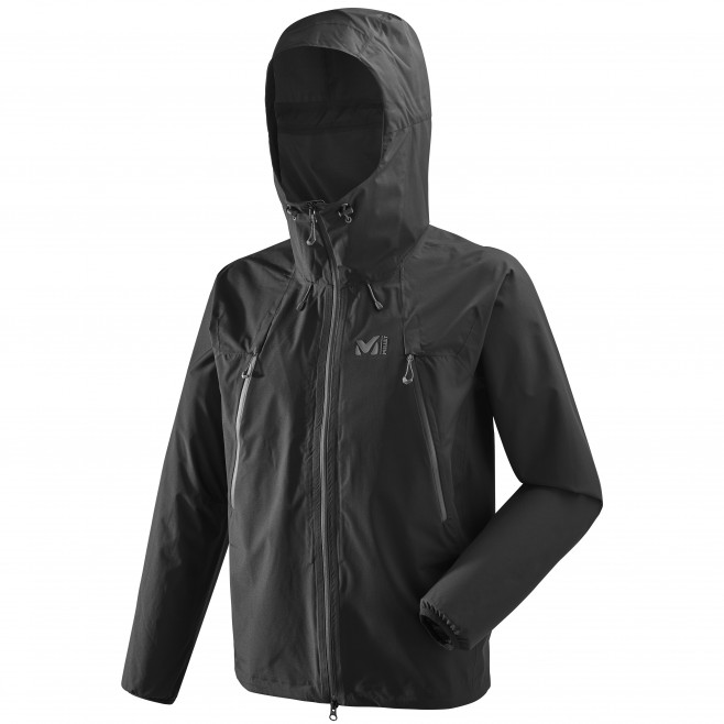 Men's waterproof jacket - mountaineering - black K ABSOLUTE 2,5L JKT Millet