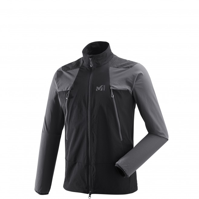 Men's softshell jacket - mountaineering - black K ABSOLUTE XCS JKT Millet