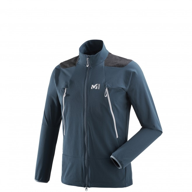 Men's softshell jacket - mountaineering - navy-blue K ABSOLUTE XCS JKT Millet