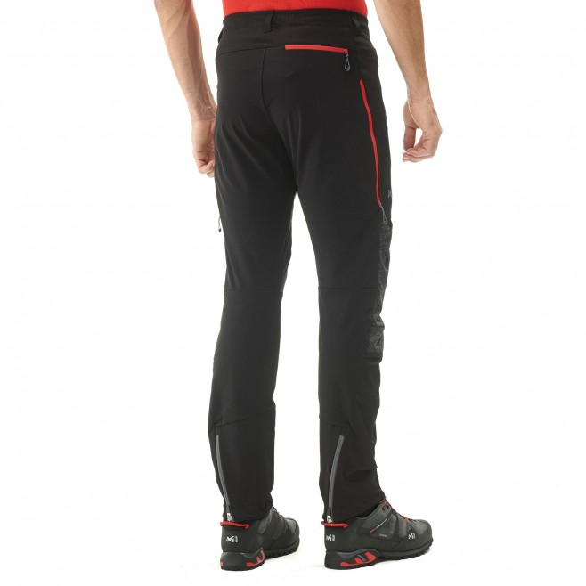 Men's wind resistant pant - mountaineering - black K XCS PANT Millet 4