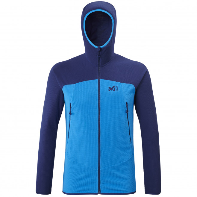 Men's lightweight fleecejacket - blue K LIGHTGRID HOODIE M Millet