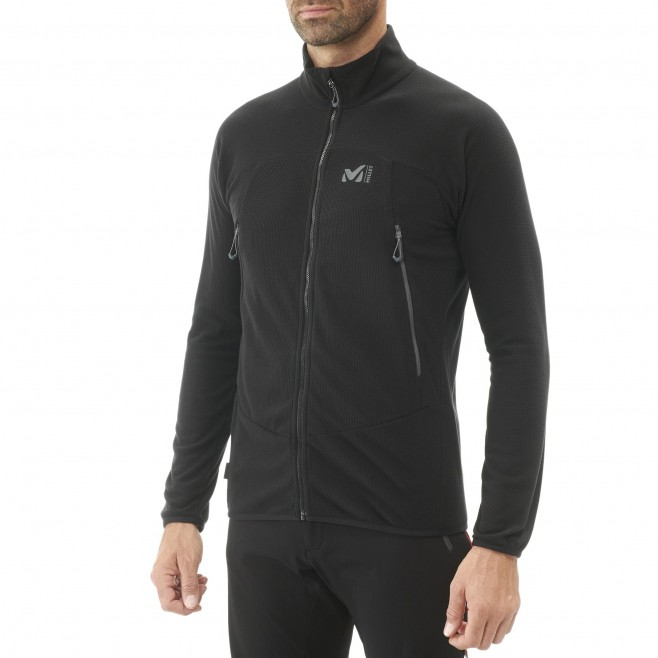Men's fleecejacket - black K LIGHTGRID JKT M Millet 2
