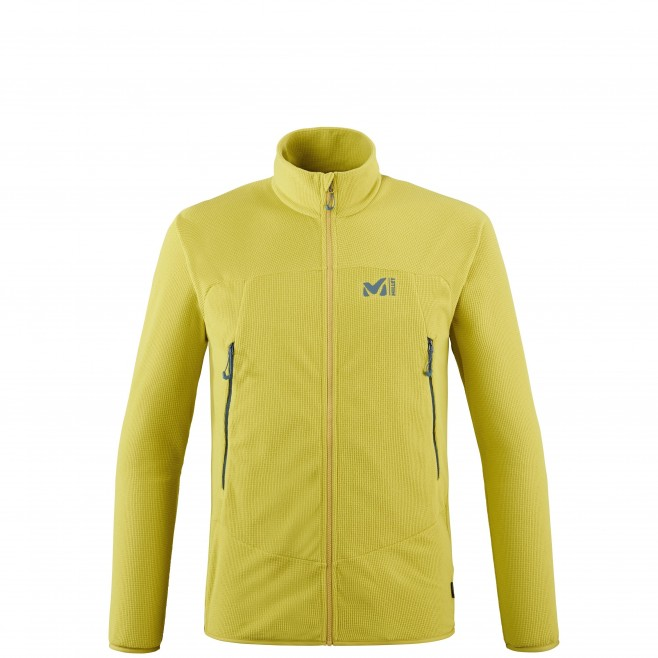 Men's fleecejacket - green K LIGHTGRID JKT M Millet