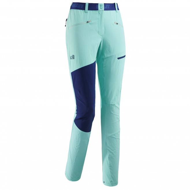 Women's wind resistant pant - mountaineering - turquoise LD ELEVATION XCS CORDURA PANT Millet