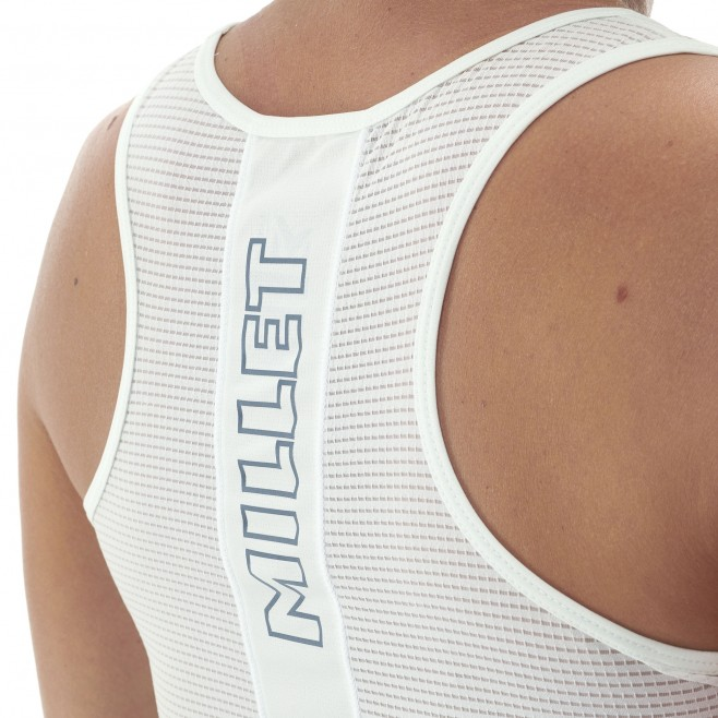 Women's tank top - trail running - white LD LTK INTENSE LIGHT TANK Millet 5