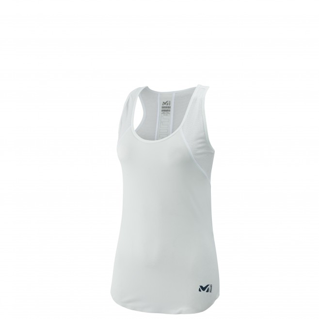 Women's tank top - trail running - white LD LTK INTENSE LIGHT TANK Millet